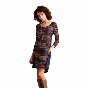 Maeve Casual A-Line Tweed Dress Large